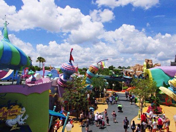 Aerial Shot Universal Studios Orlando