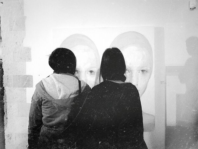 Friendship Oldfriend Art Blackandwhite Artist Dipinto RePicture Friendship