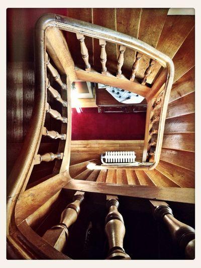 Staircase Château Touraine Interior Views