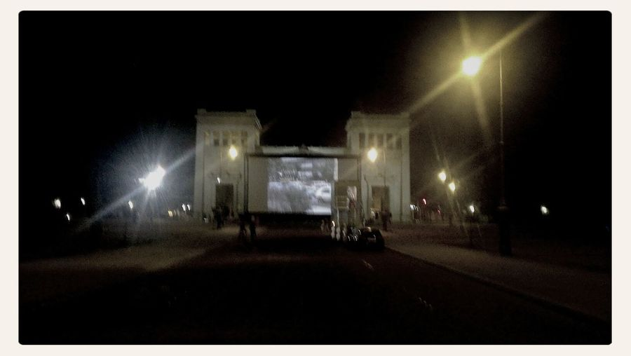 Open Air Kino am Königsplatz Open Air Cinema