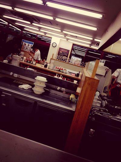 松屋で夜ご飯