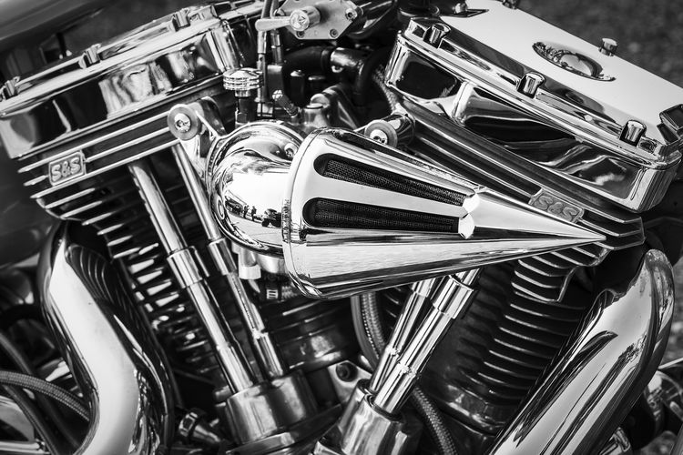Abundance Air Filter Alloy Backgrounds Car Choice Chrome Clean Close-up Engine Full Frame High Angle View Indoors  Land Vehicle Large Group Of Objects Metal Mode Of Transportation Motor Vehicle Motorcycle No People Silver Colored Steel Still Life Transportation Vehicle Part