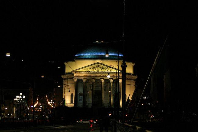 Architecture Chiesa Chiesa Della Gran Madre Church City City Life City Life Famous Place Gran Madre Gran Madre Torino Italia Italy Lights Movement Night People Torino Turin Urban