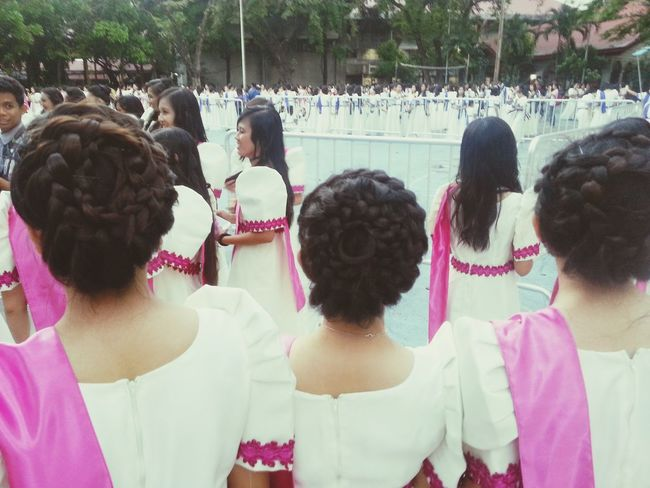 Braids and balintawak. Hair Braided Hair Pink Girls Backs