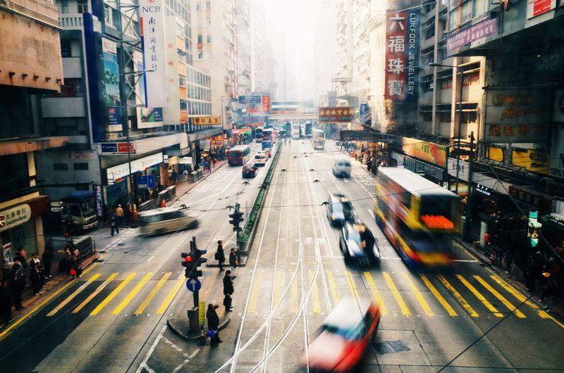 The streets of Hong Kong. Hong Kong Cityscapes The Explorer - 2014 EyeEm Awards