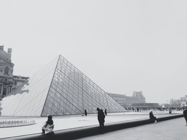 Architecture Built Structure Travel Destinations Real People Large Group Of People Travel Building Exterior City Tourism Museum Pyramid