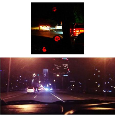 with bro's Streetracing