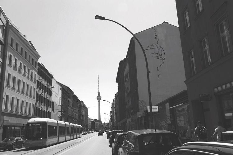 Always nice to see the alex! Myfuckingberlin Berlin Berliner Ansichten Berlincity Alexanderplatz Blackandwhite Blackandwhite Photography Streetphotography EyeEm Best Shots - The Streets Perspective Bnw_friday_eyeemchallenge Bnw_collection