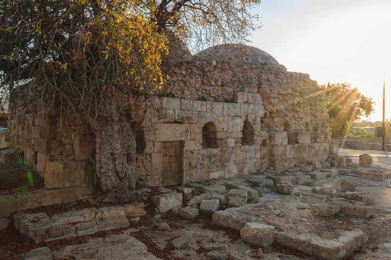 Ancient Ancient Civilization Archaeology Architecture Building Exterior Built Structure Day History Nature No People Old Ruin Outdoors Sky Stone Material Travel Destinations Tree Turkish Baths The Great Outdoors - 2017 EyeEm Awards Medieval Ottoman Turkish Baths