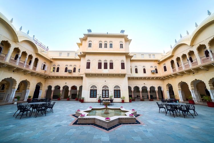 Places Palace India Travel Rajasthan Alsisar Jaipur Royalty Rich Culture Photography Photooftheday Taking Photos Fine Art Photography Feel The Journey