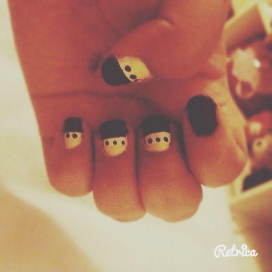 No esta mal como primera vez 💅🏽💅🏽💅🏽 💋💋💋💋💋😍😸❤️💖 Mynails Nailsarts❤ Uñas♥ Like I'mhappy Smileagainsteverything MeGusta ♡ Estabien Lasadoro