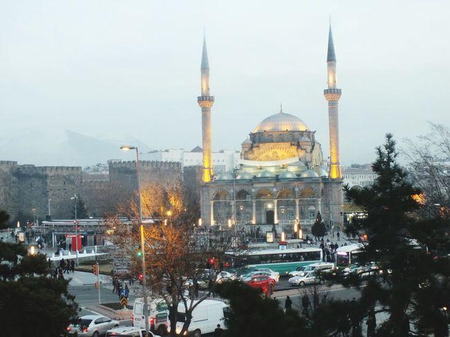 Cami Kayseri, Turkey Travel Destinations Dome Winter City Tree Snow EyeEmNewHere