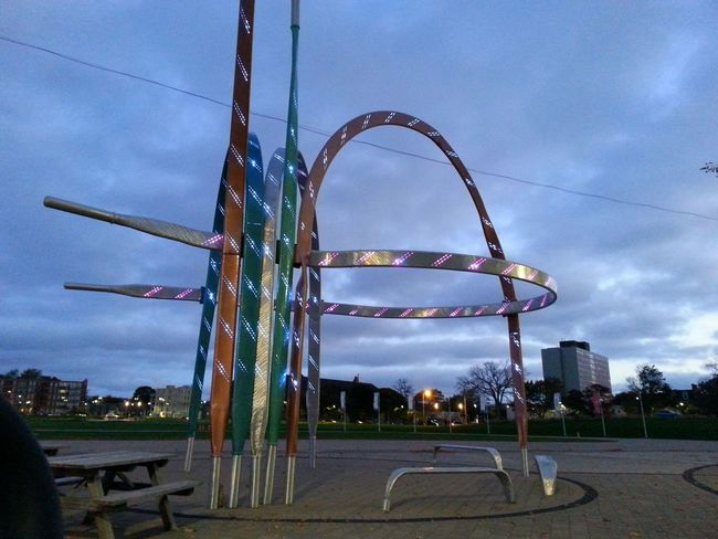 The Oval No People Sky Outdoors Laces Sculpture Commons