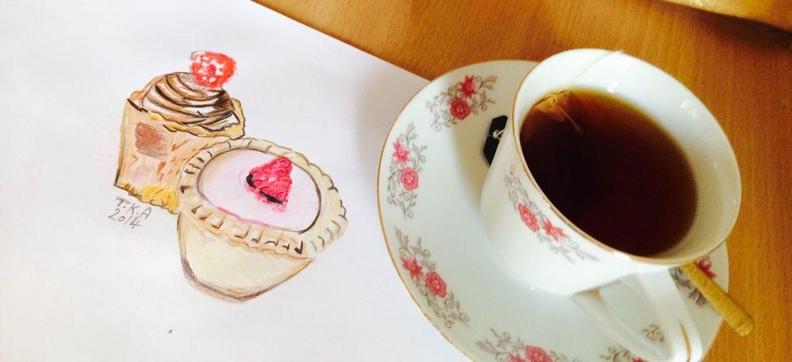 Tea ..a hug in a cup ❤️✨ My Draw ♥ Relaxing Taking Photos Enjoying Life