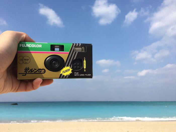 taking a camera with a camera OKINAWA, JAPAN Beach First Eyeem Photo