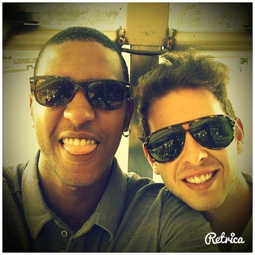Chillin with my bro @edwardferreira9 ✌ ? ? Santarém Feiradaagricultura Selfie