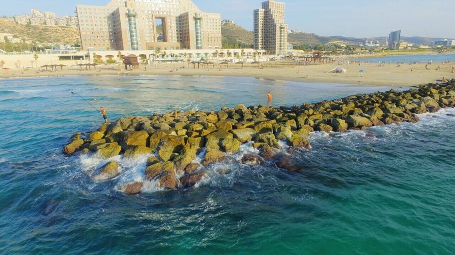 Haifa hotel meridian , shut from my dji phantom 3
