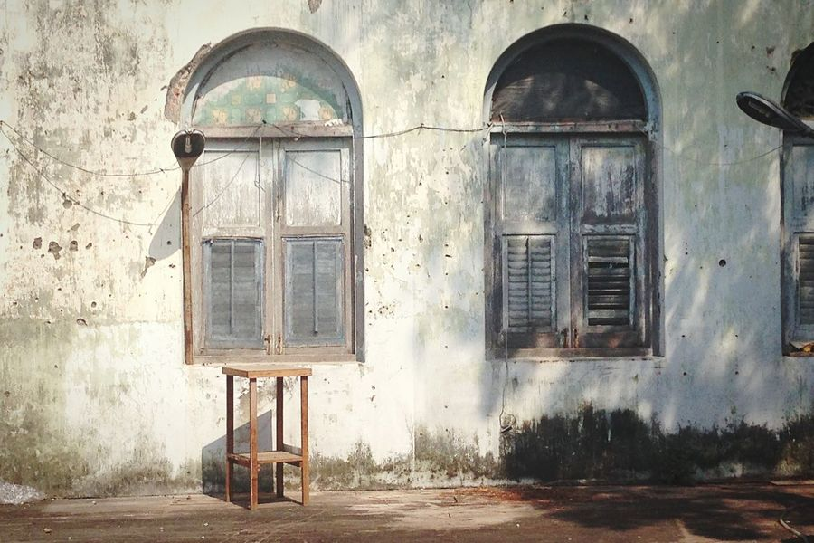 Old Buildings Old House Thailand Urban Photography Urban Exploration Urbanphotography Urbanexploration Urbanexplorer Bangkok Oldbuilding Window Windows Textures And Surfaces Isolated The Street Photographer - 2016 EyeEm Awards