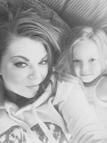 Mother & Daughter Lazy Day Blackandwhite My Heart ♡