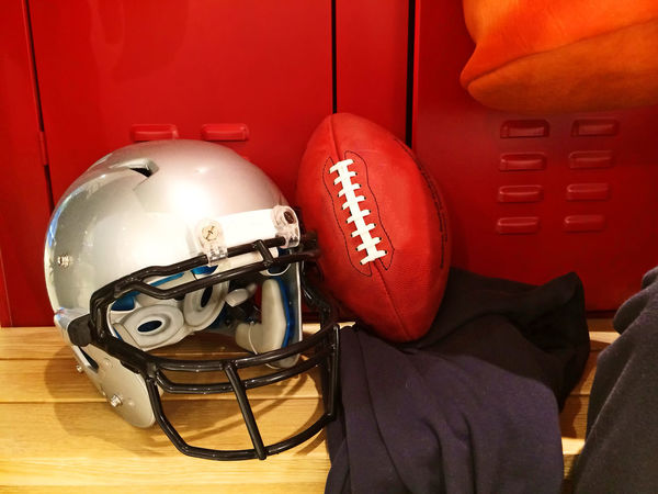 Football Fun Power USA Win America American Football - Sport Ball Break Cabin Color Dressing Room Equipment Football Helmet Game Helmet Indoors  No People Protection Red Sport Sports Success Super Bowl