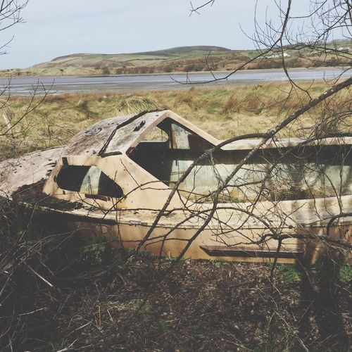Hen Gwch Old Boat Rust Changingworld ManmadeVsNature Harbour