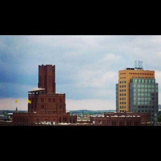 Utrecht Netherlands Nederland City View Terrace Laplace V &d Architecture SpaceShip Flyingsaucer Ik Buildings