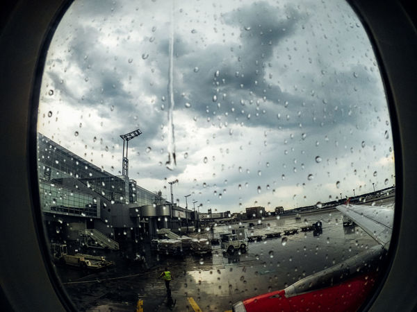 Airplane Airport Boarding Car Cloud - Sky Drop Enjoy Finding New Frontiers Flight Glass - Material Monsoon Rain RainDrop Rainy Season Sky Start A Trip Transparent Transportation Traveling Home For The Holidays Vacations Vehicle Interior Water Weather Wet Window Sommergefühle EyeEm TOA 2017