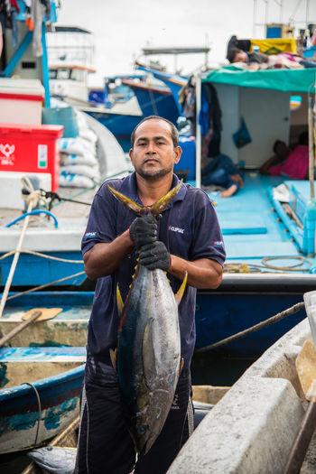 Big Tuna Boat Fish Fishing Boat Fishing Man Fresh Fish Fresh Fish Market Fresh Tuna Maldives Maldives Island Male Maldives Raw Food Seafood Tuna Fish Working