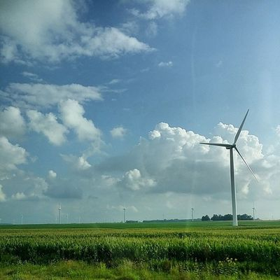 One more! Roadtrippin Landscape Windmill Nofilter onthemove