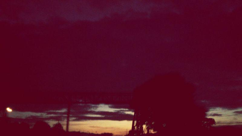 Amanecer en la Costa Sur de Guatemala Beautiful Sunrise On The Road Southcoast