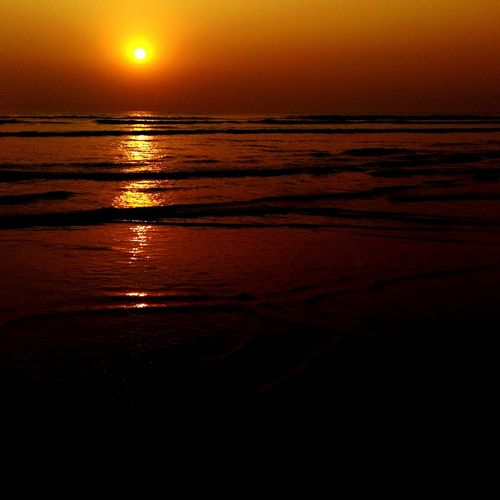 Melting gold in water Enjoying The Sun Sea Sunset EyeEm Nature Lover
