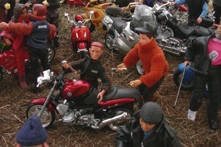 Concentracionpingüinos Concentraci´ Dioramas Madelman Motor Motorbike Motos Tourism