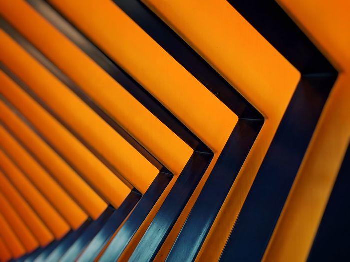 Full frame shot of staircase