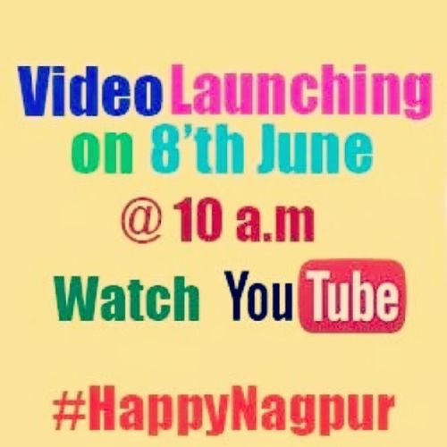 Happy Nagpur video to be launched today. Excited. Happynagpur PharrelWilliams Happy Nagpur