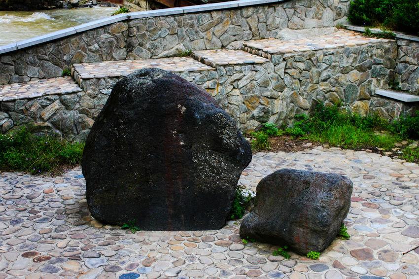 Old big meteor Outdoors Karachaevo Circassia Khurzuk Kafkas Caucasus Spy Meteor Mountains Kuban River