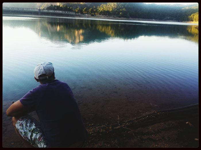 Saw Aguascebas Lago Water