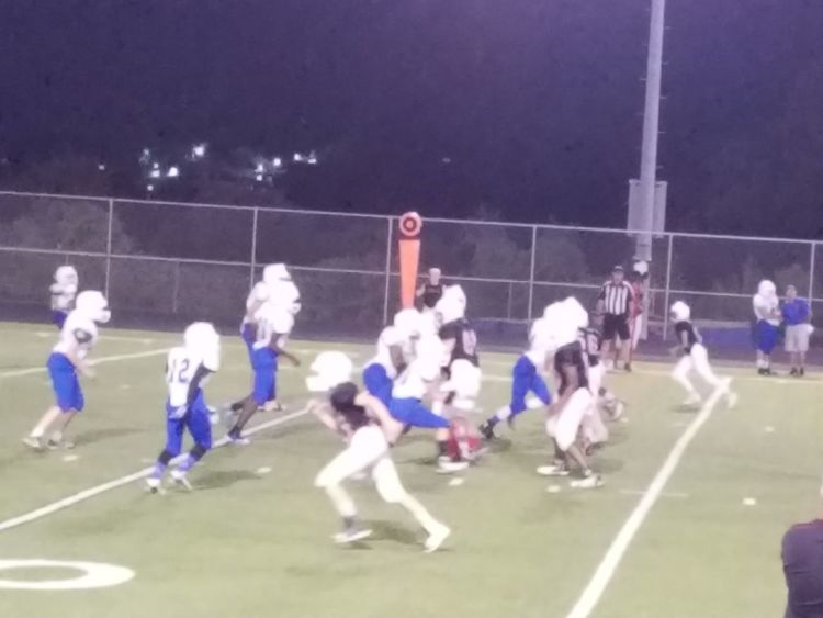 The boys are winning! End of the 3rd and 22-0! Clapclap
