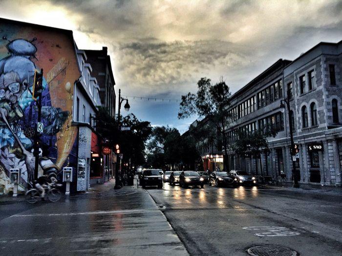 Plateau Clouds And Sky Montréal Saint Laurent Street EyeEm Best Shots Rainy Day
