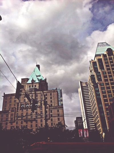 looks like the tipton hotel from zack & cody Travelling Vancouver Canada