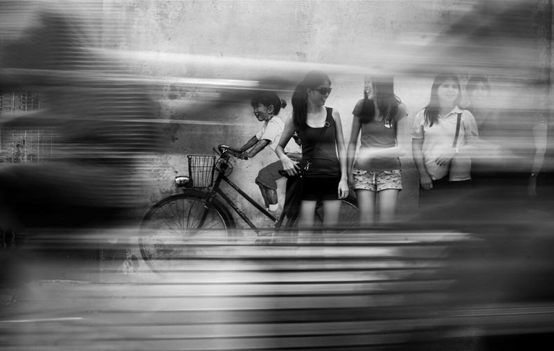 Capturing Movement Streetphotography Black And White Photography Motion Blur Life In Motion