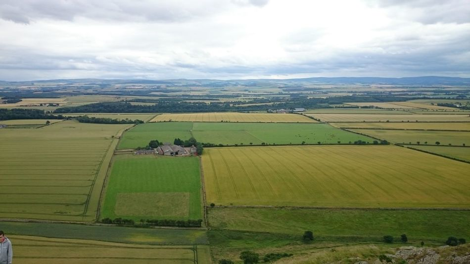 The Law Agriculture Farm Rural Scene Aerial View Field Landscape Social Issues House Nature Green Color Environmental Conservation Beauty In Nature Cloud - Sky Sky Outdoors No People Day north Berwick Scotland