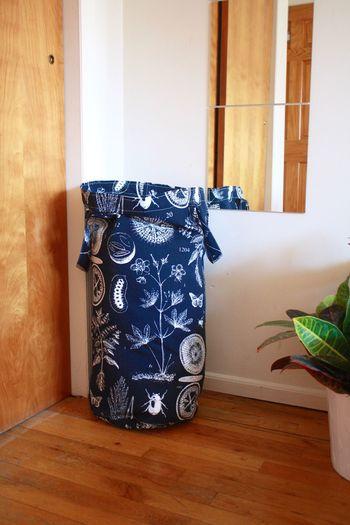 Indoors  Home Interior Hardwood Floor No People Day Bag Hamper Mirror
