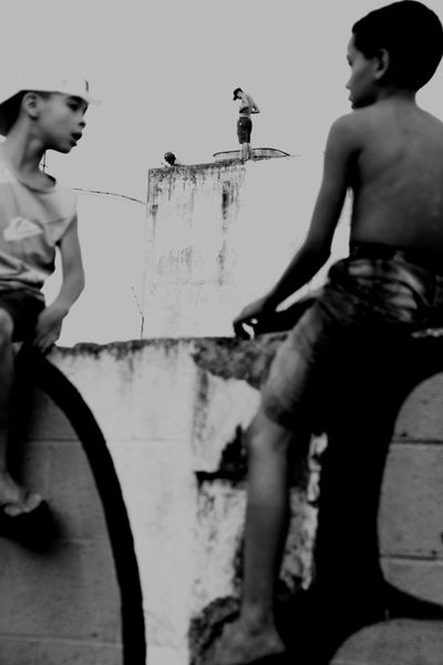 Urban Sao Paulo - Brazil ZonaNorte Pixação Meninos Street Photography Photography