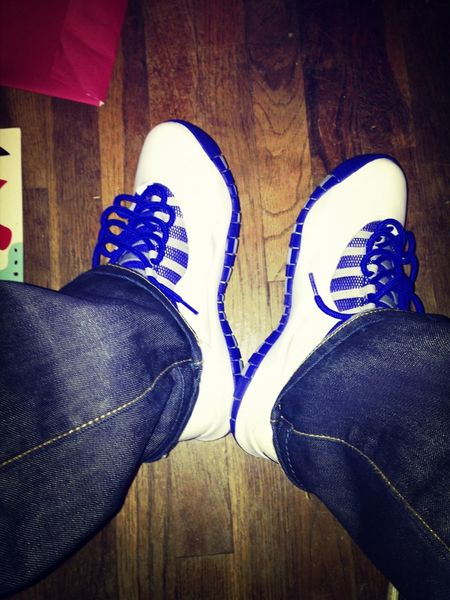 Jordans On My Feet