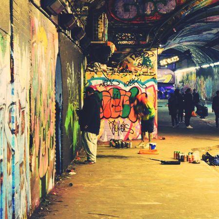 Leake St London Graffiti