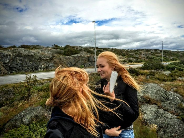 Enjoying Life Taking Photos Girl Power Landscape_Collection People Landscape Sweden-landscape Öckerö Let Your Hair Down Hiking Girls Archipelago People Photography Eyeemphotography Joy People Together In The Moment Women Who Inspire You The Portraitist - 2016 EyeEm Awards Nature Photography The Great Outdoors - 2016 EyeEm Awards My Favorite Photo The Moment - 2016 Eyeem Awards The Portraitist - The 2016 EyeEm Awards The Following Mobile Conversations