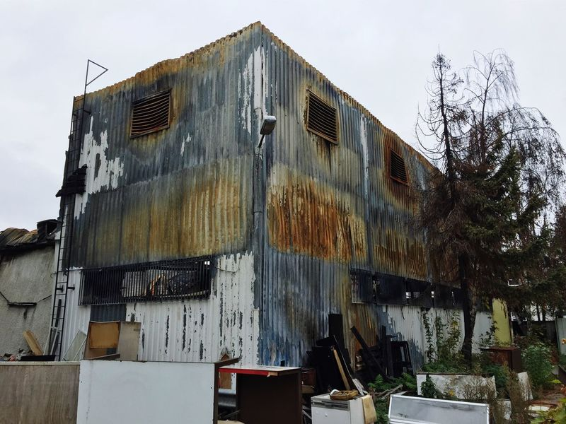 Burned Architecture Neukölln