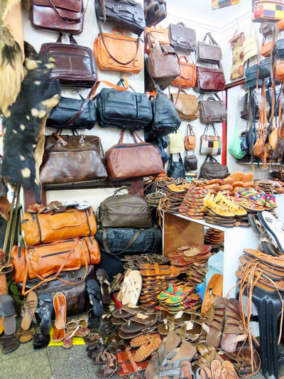 Abundance Bag Choice Consumerism Day For Sale Large Group Of Objects Leather Market Market Stall No People Purses Retail  Store Travel Destinations Variation
