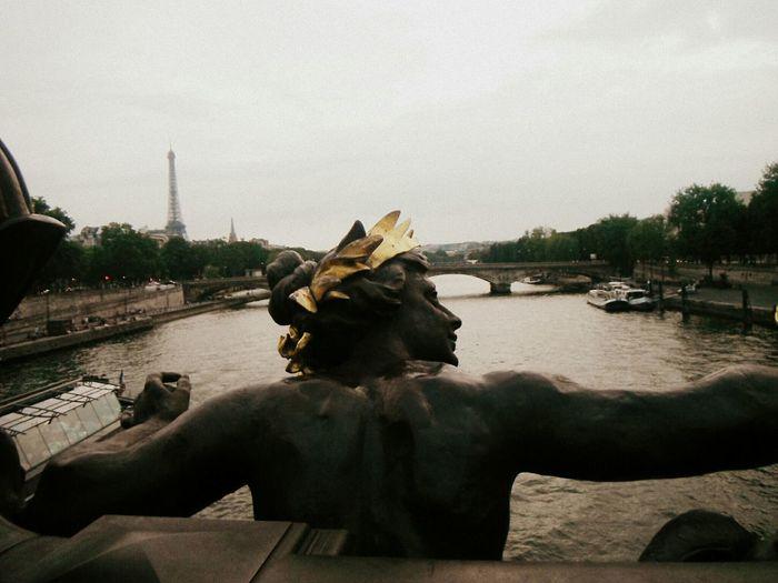 Paris Bridge Pont Alexandre ııı