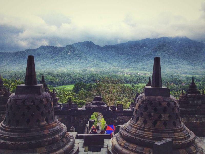Borobudur temple in Yogyakarta. EyeEm Indonesia Landscape Travel Photography ASIA INDONESIA Jogjakarta Yogyakarta Temple Borobudur